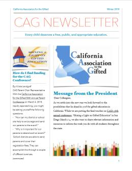 CAG_spring18_newsletter_frontpage_1