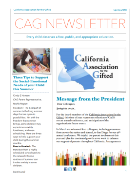 CAG_Spring_Newsletter